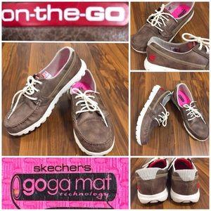 SKECHERS On The Go Women Shoes Goga Mat Size 9